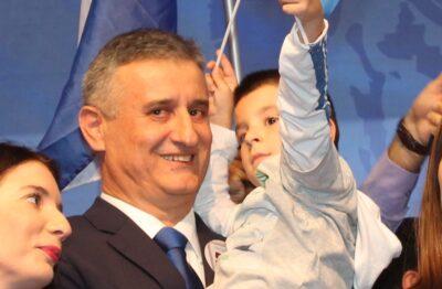Tomislav Karamarko na nedavnom predizbornom skupu u Šibeniku (Foto: Tris/H. Pavić)