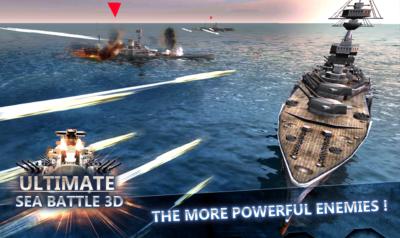 Ilustracija: gađanje i potapanje brodova je popularna igra (Wikipedia)