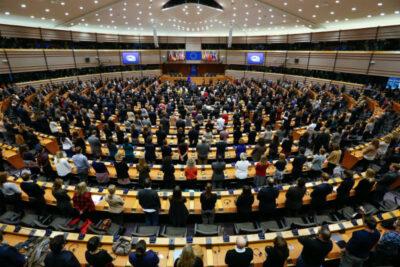 Europski parlament (Foto: EPA/LAURENT DUBRULE - Hina)