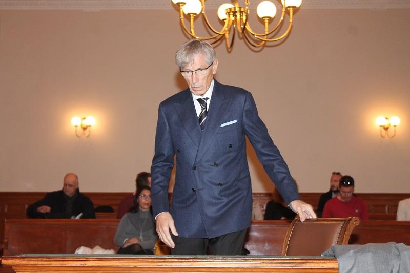 Tomo Horvatinčić na današnjem izricanju presude (Foto: H. Pavić)