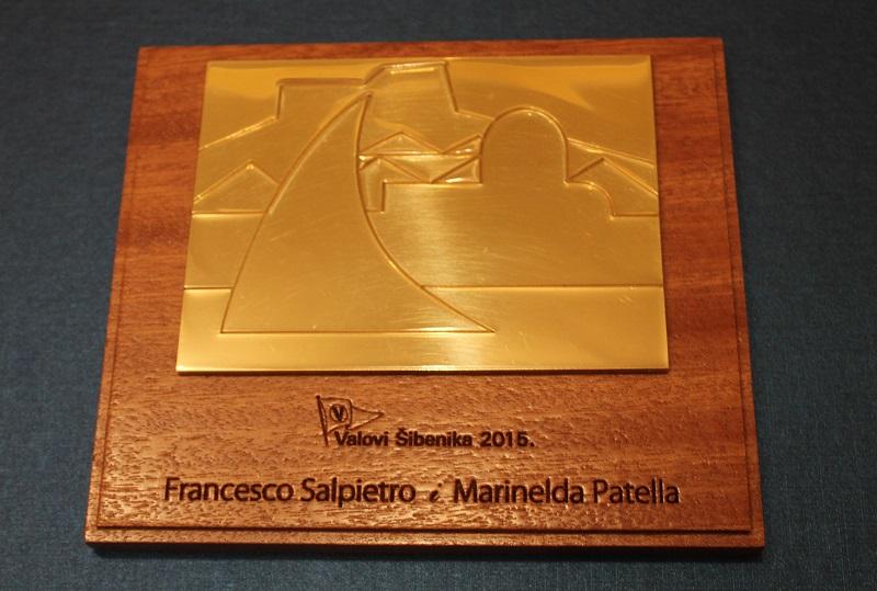 Jedriličarski bračni par Salpietro posthumno će dobiti priznanje 'Valovi Šibenika'