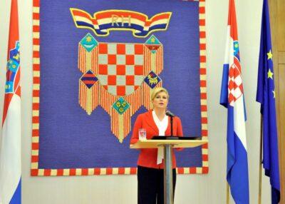 Predsjednica RH Kolinda Grabar-Kitarović (Foto Ured Predsjednice RH)