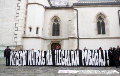 Ženska mreža ispred Ustavnog suda protiv zabrane prava na pobačaj