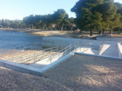 Plaža u Minerskoj dobila rampu za invalide