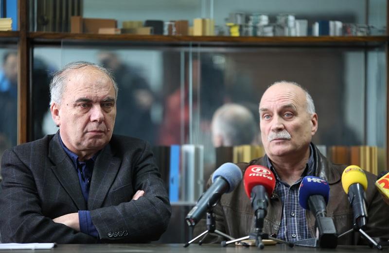 Konferencija za novinare HSM-a i HURS-a - Ozren Matijašević i Zdravko Burazer - TLM (Foto H. Pavić)
