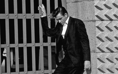 Pjevač ispred zatvora Folsom, gdje je pronađena nova vrsta pauka (foto Wiikipedia)