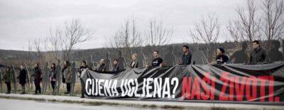 Arhiva: S prosvjedne akcije u Istri (foto Zelena Istra)