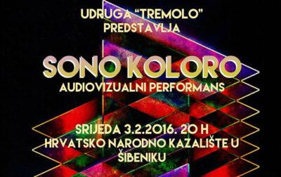 Sono Koloro: Zvuk, boja i slika u šibenskom kazalištu