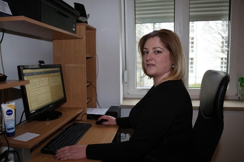 Zamjenica šibensko-kninskog župana Anja Šimpraga (Foto: Tris/H. Pavić)