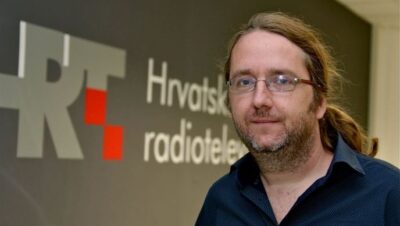 Dean Šoša (foto: HRT - izvor: http://hrtprikazuje.hrt.hr/310365/hrt-medijski-partner-human-right-film-festivala)