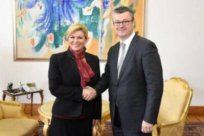 Supotpisnici (Fotografija: Ured predsjednice Republike Hrvatske )