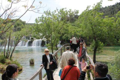 Sporni most za prošlogodišnje prvosvibanjske proslave (Foto: H. Pavić)