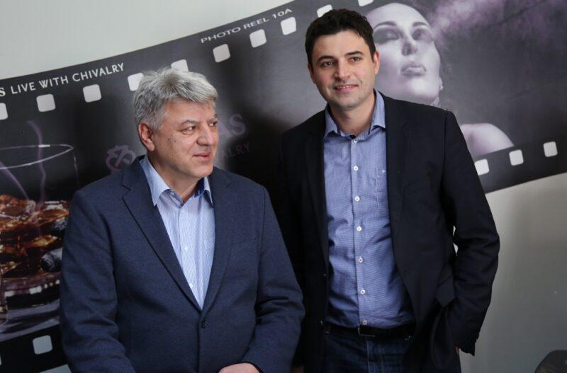 Zlatko Komadina i Davor Bernardić (Foto: Tris/H. Pavić)