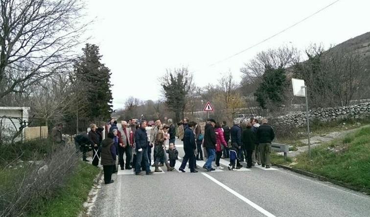 Prosvjed (foto Facebook)