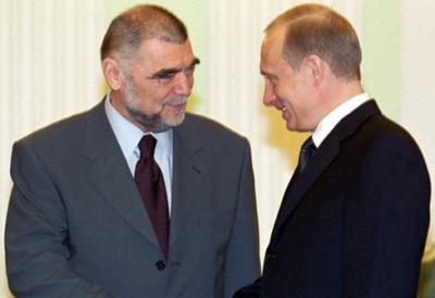 Mesić i Putin 2012. godine (foto Wikipedia)