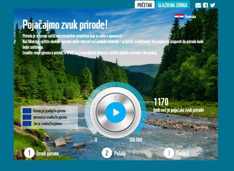 """Kampanja """"Pojačajmo zvuk prirode!"""": Poruka političarima da se """"ne igraju"""" propisima za zaštitu prirode"""
