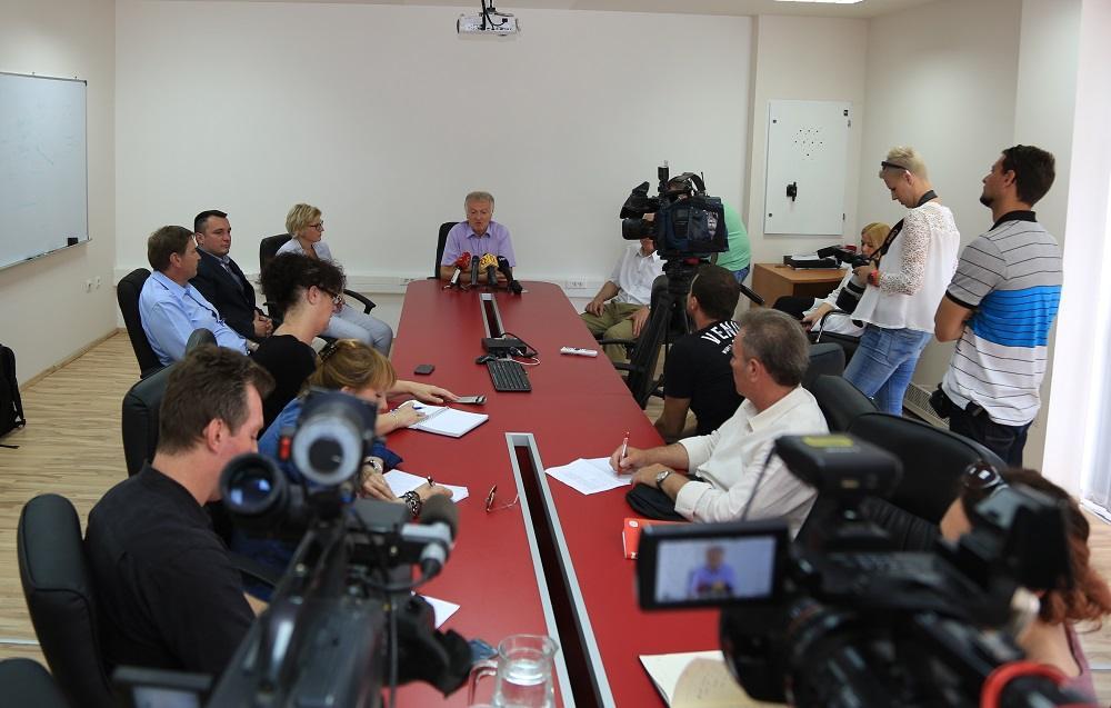 Konferencija za novinare (Foto: Tris: H. Pavić)