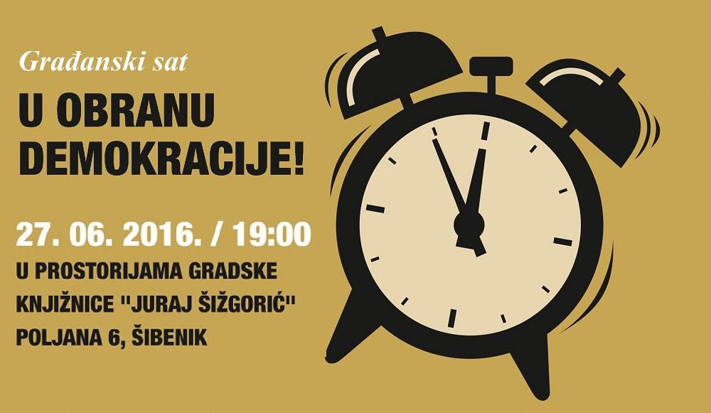 Plakat - Građanski sat