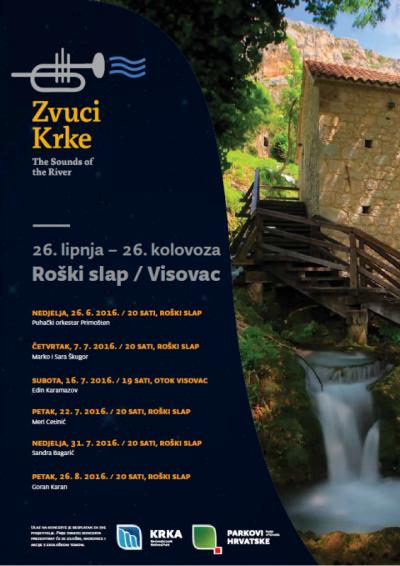 Sve besplatno: NP Krka poziva na Zvuke Krke i Karamazova na Visovcu