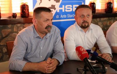 Pero Ćorić (HSP AS) u Murteru: 'Cilj nam je da u Saboru bude križ od tri metra'