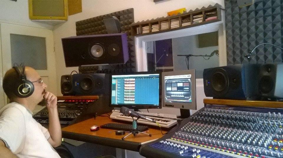 Ante Prgin u studiju 'Božo'