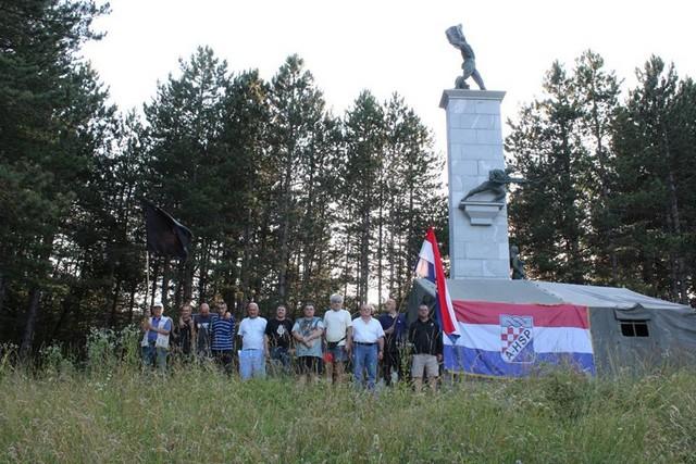 MUP traži uklanjanje šatora iz Srba, A-HSP to odbija učiniti