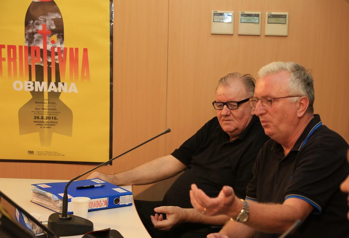 Igor Marinović i Nediljko Pušić (Foto: Tris)