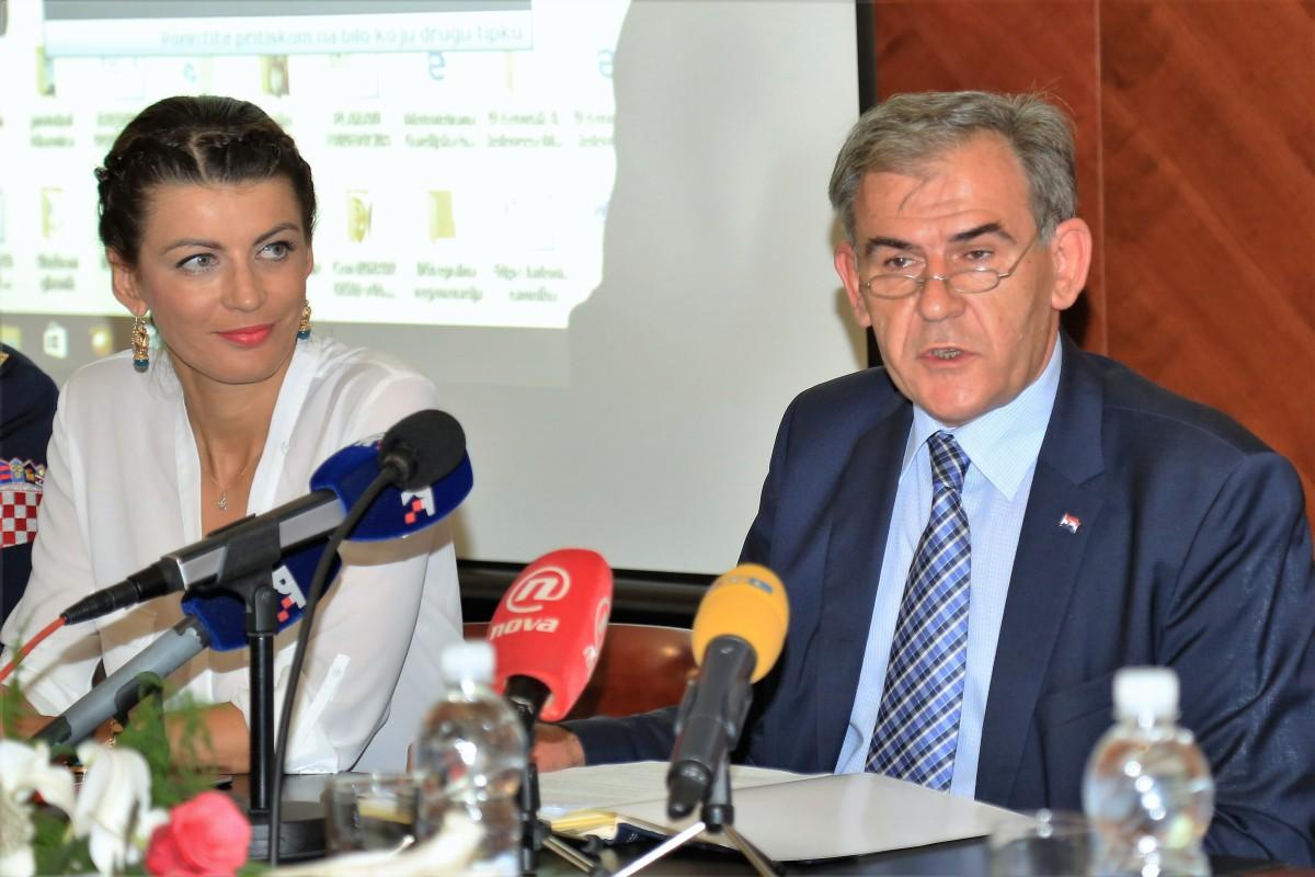 Josipa Rimac i Tomislav Ivić (Foto: Tris/H. Pavić)