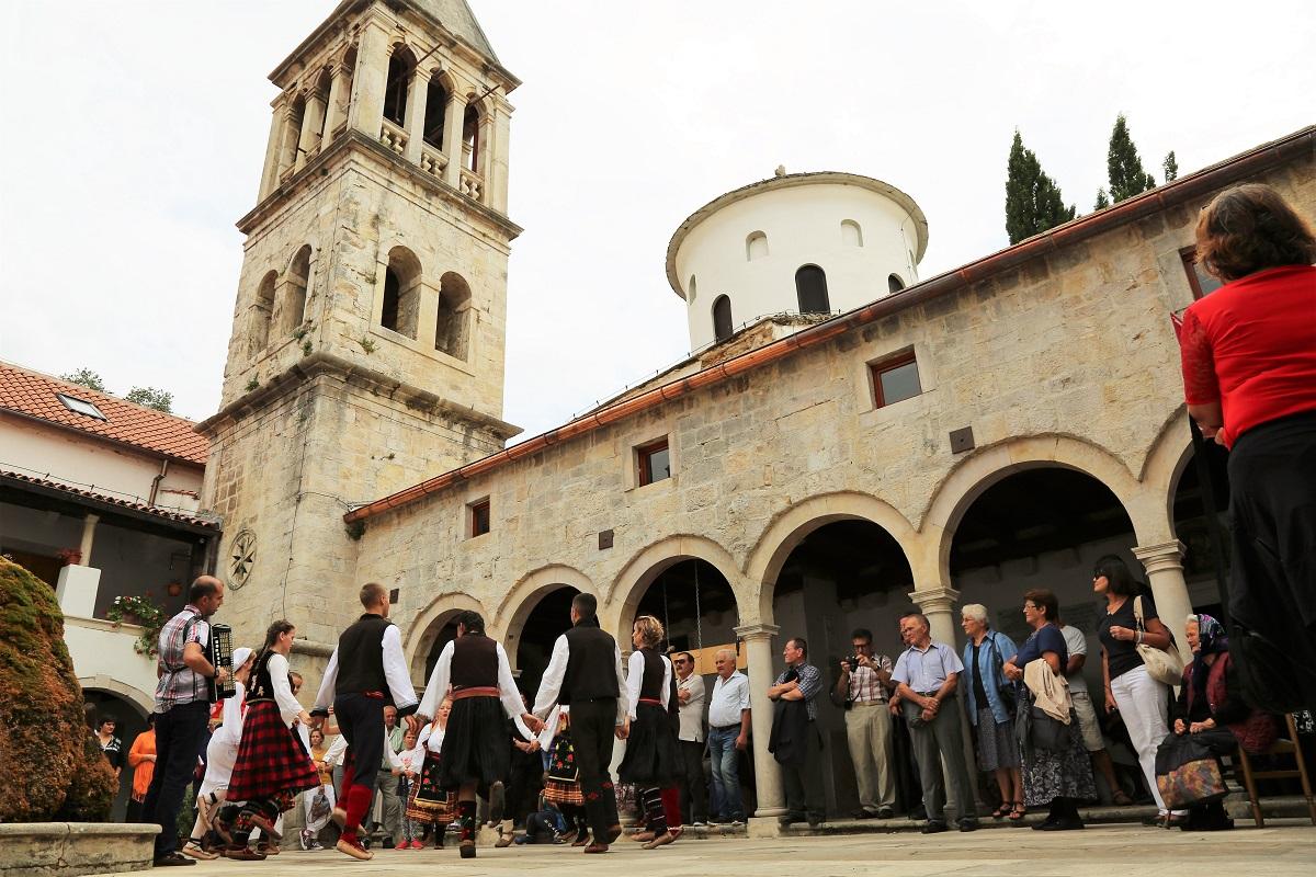 Manastir Krka - praznik Preobraženja Gospodnjeg (Foto: Tris/H. Pavić)