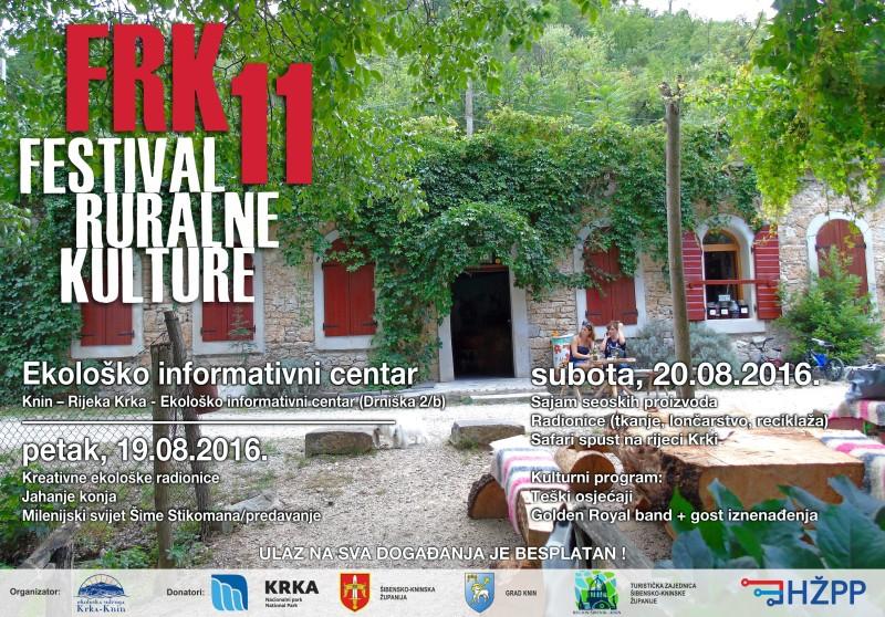 11. Festival Ruralne Kulture u Kninu: Trk na FRK