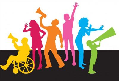 Svatko treba dati glas za ljudska prava (ilustracija)