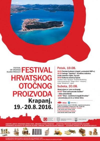 Festival hrvatskog otočnog proizvoda na Krapnju