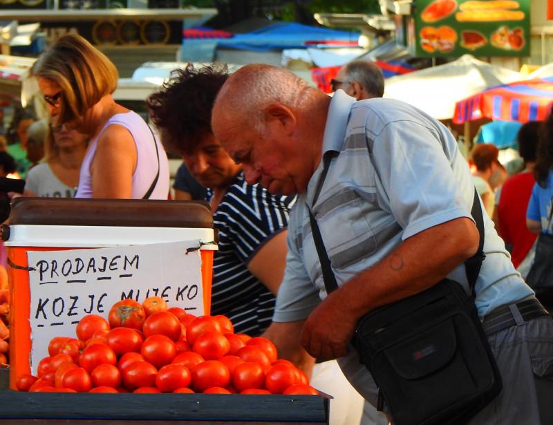 Splitski 'pazar' (foto TRIS/G. Šimac)