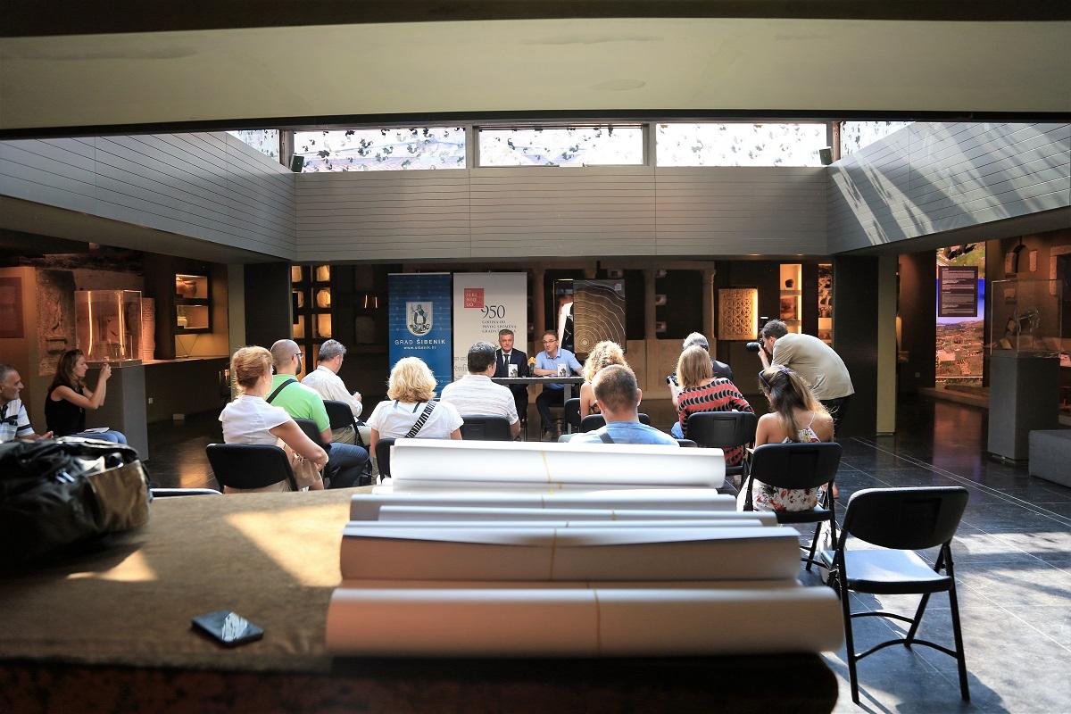 Konferencija za novinare u atriju Muzeja (Foto: Tris/H. Pavić)