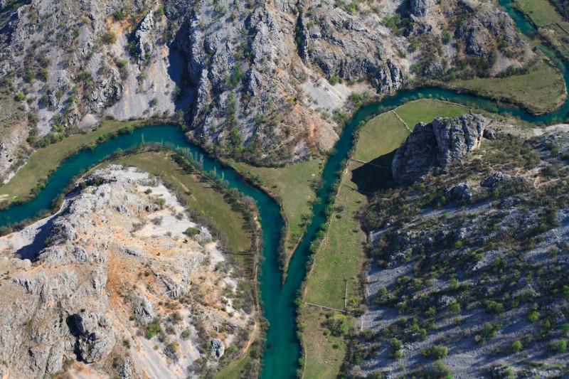 Ušće Krupe u Zrmanju/Foto:WWF/Goran Šafarek