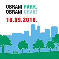 """Inicijativa za očuvanje parka na Savici poziva na prosvjed: """"Obrani Park, obrani Grad"""""""