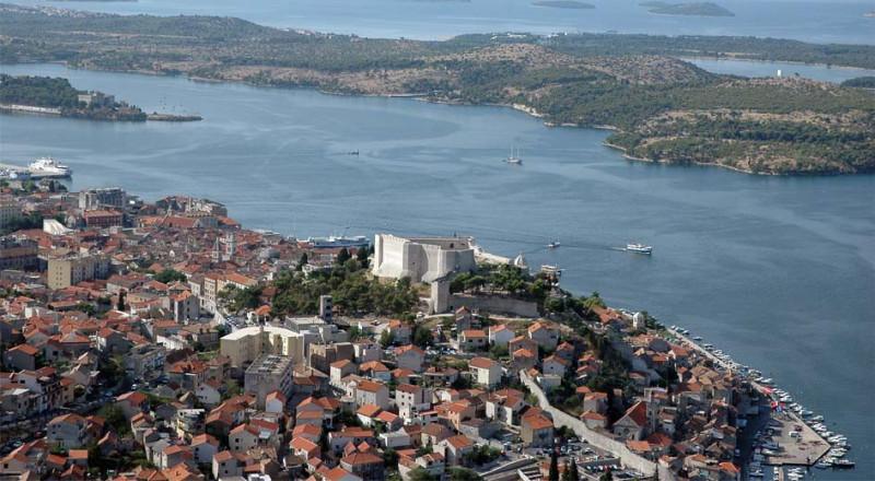 Panorama Šibenika (Foto: TZ Grada Šibenika)