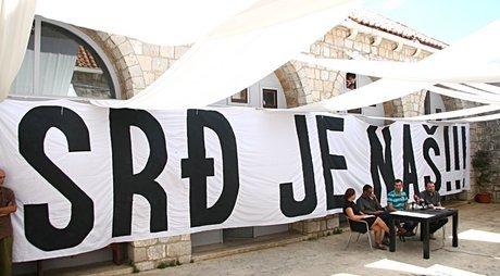 Arhiva: Prosvjed u Dubrovniku (foto Zelena akcija)