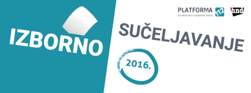 Platforma 112 i Hrvatsko novinarsko društvo: Predizborno sučeljavanje šestorice