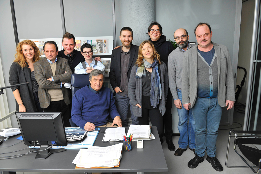 Ekipa serije Novine