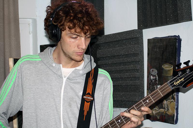 Božo Bilušić, basist Magula, vlasnik studija i autor tajnovitog 'opskurnog' glazbenog projekta (Foto: TRIS)