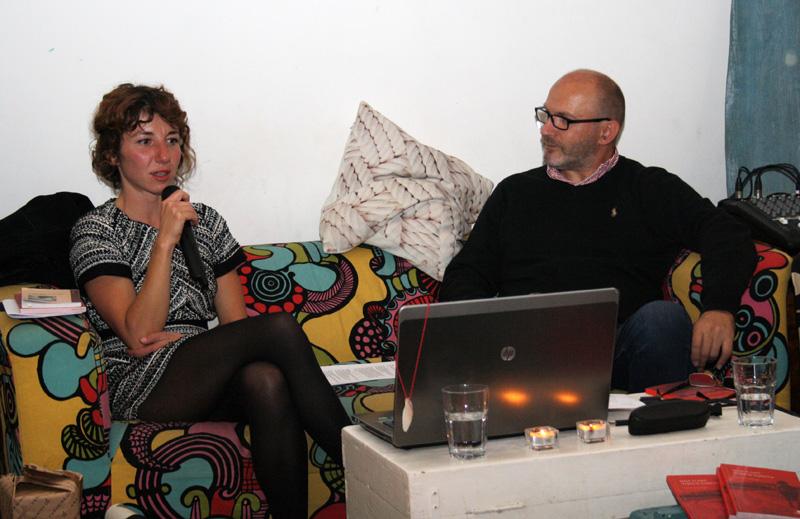 Maja Klarić i moderator Damir Vujnović (Foto: Jozica Krnić)