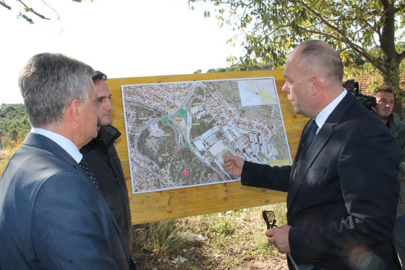 Grad Šibenik i Hrvatske ceste, uz radove na čvoru Meterize, kreću u realizaciju novih projekata