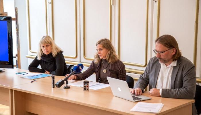 (Slijeva na desno) Mirna Belina, Jelena Paljan, Hrvoje Hribar (foto HAVC)