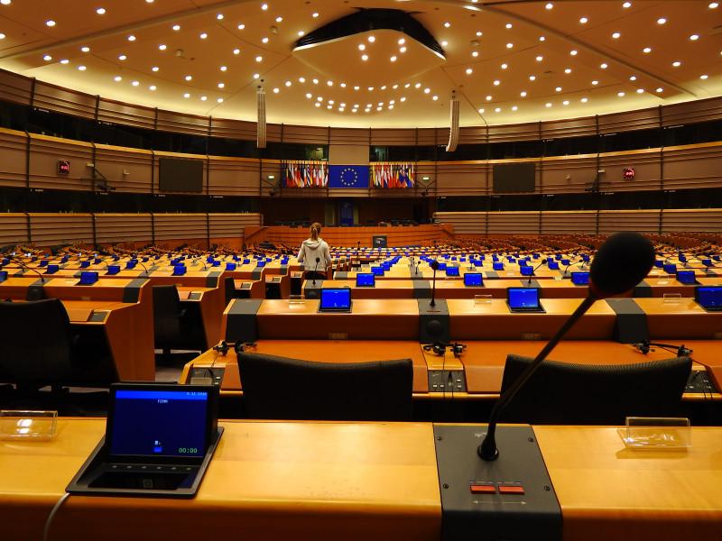 Prazan Europski parlament (foto TRIS/G. Šimac)