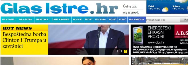 HND i SNH vlasnicima Glasa Istre: Ne uništavajte jedini istarski dnevni list