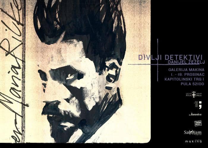 Divlji detektivi: Izložba Danijela Žeželja u pulskoj galeriji Makina