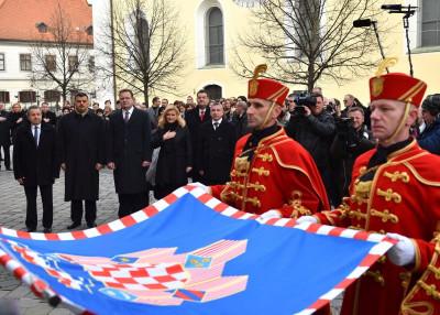 Ceremonija u Varaždinu (foto Ured predsjednice RH)