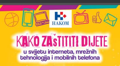 """Objavljena brošura """"Kako zaštititi dijete u svijetu interneta, mrežnih tehnologija i mobilnih telefona"""""""