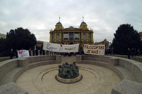 Senat Sveučilišta u Zagrebu ne priznaje odluke Vijeća Filozofskoga fakulteta:Plenum fakulteta večeras odlučuje o blokadi ?